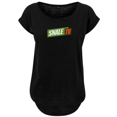 Motiv: Ladies Long Slub Tee - snaleTV dezent