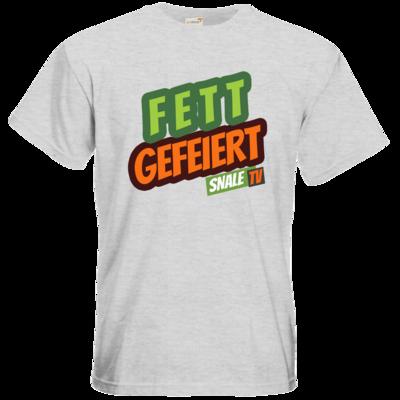 Motiv: T-Shirt Premium FAIR WEAR - Fett Gefeiert
