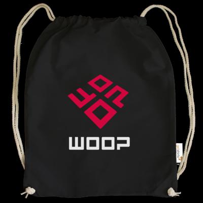 Motiv: Cotton Gymsac - Woop Logo