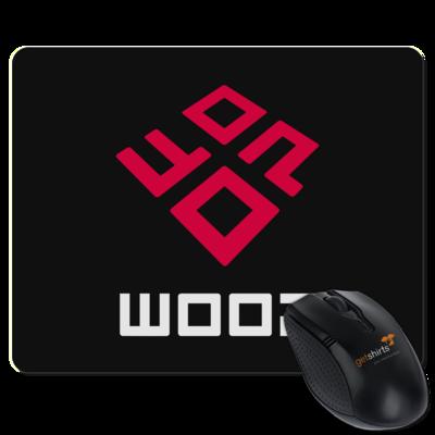 Motiv: Mousepad Textil - Woop Logo