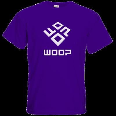 Motiv: T-Shirt Premium FAIR WEAR - Woop Logo Monochrom