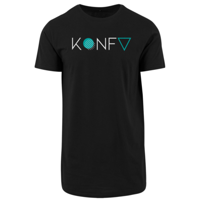 Motiv: Shaped Long Tee - KONFV Lettering