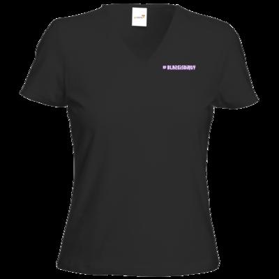 Motiv: T-Shirt Damen V-Neck Classic - Blaze