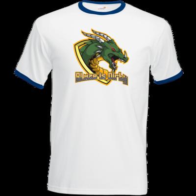Motiv: T-Shirt Ringer - BlazeTransparent