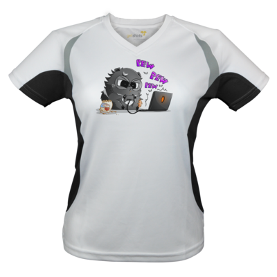 Motiv: Laufshirt Lady Running T - Salt - Meeries
