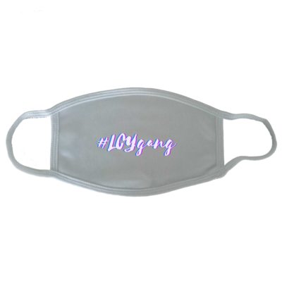 Motiv: Gesichtsmaske - #LCYgang
