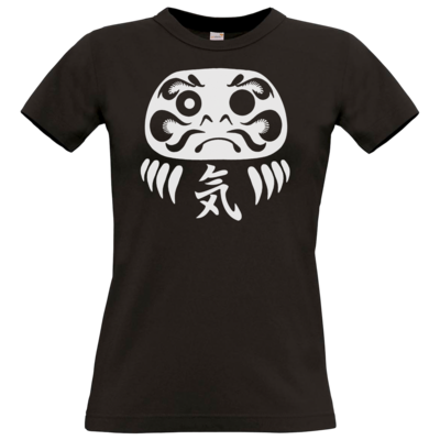 Motiv: T-Shirt Damen Premium FAIR WEAR - Daruma