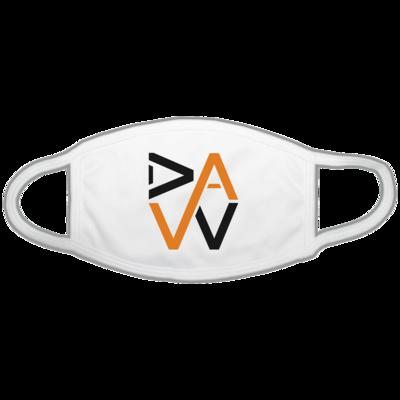 Motiv: Gesichtsmaske - DaW-Logo Orange