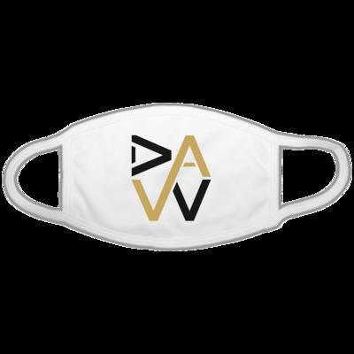 Motiv: Gesichtsmaske - DaW-Logo Gold