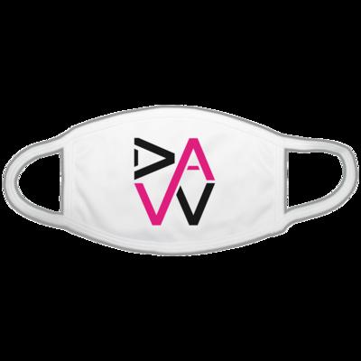 Motiv: Gesichtsmaske - DaW-Logo Pink