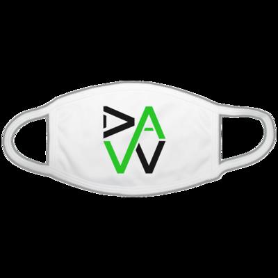 Motiv: Gesichtsmaske - DaW-Logo Grün