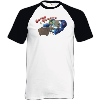 Motiv: TShirt Baseball - Potato - Die Meeries