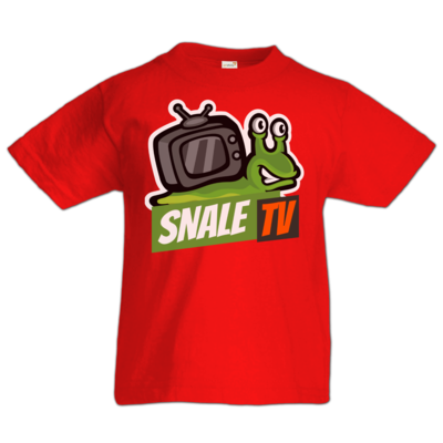 Motiv: Kids T-Shirt Premium FAIR WEAR - snaleTV Logo