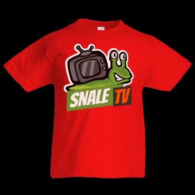 Motiv: Kids T-Shirt Premium FAIR WEAR - snaleTV Logo