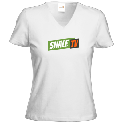 Motiv: T-Shirts Damen V-Neck FAIR WEAR - snaleTV dezent