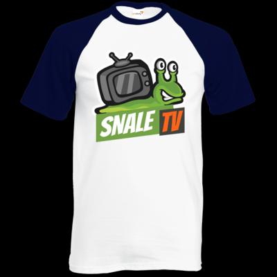 Motiv: Baseball-T FAIR WEAR - snaleTV Logo