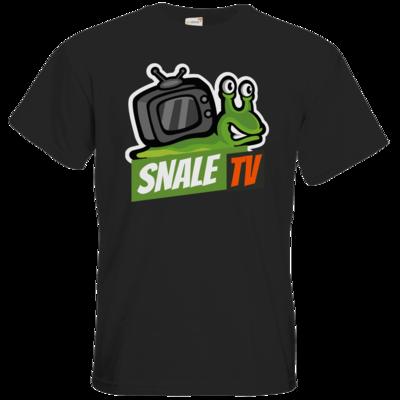 Motiv: T-Shirt Premium FAIR WEAR - snaleTV Logo