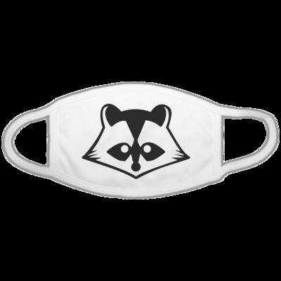 Motiv: Gesichtsmaske - Coon bw Logo