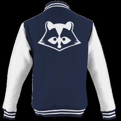 Motiv: College Jacke - Coon bw Logo