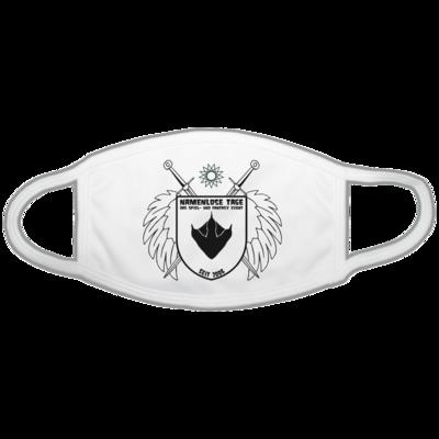 Motiv: Gesichtsmaske - Namenlose Tage - Wappen Kissen