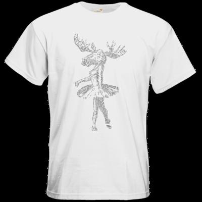 Motiv: T-Shirt Premium FAIR WEAR - Elch - Popotin Lyrics