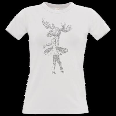 Motiv: T-Shirt Damen Premium FAIR WEAR - Elch - Popotin Lyrics