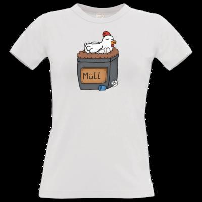 Motiv: T-Shirt Damen Premium FAIR WEAR - Müllhuhn