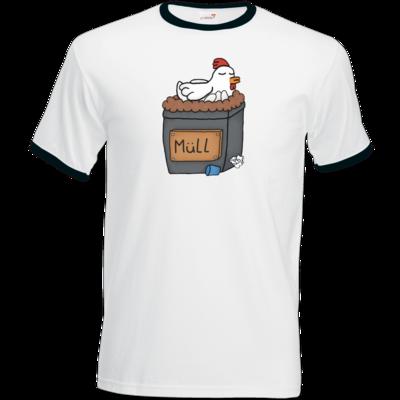 Motiv: T-Shirt Ringer - Müllhuhn