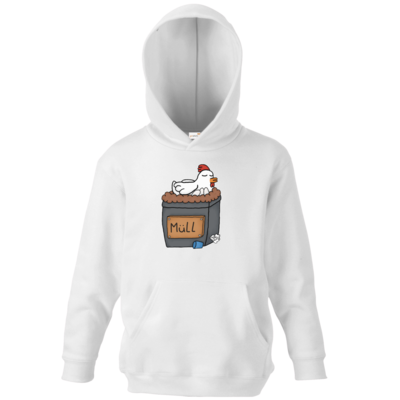 Motiv: Kids Hooded Sweat - Müllhuhn