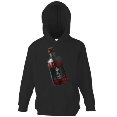 Motiv: Kids Hooded Sweat - Rosso Rotwein