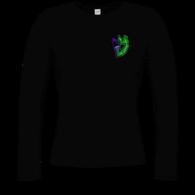 Motiv: Longsleeve Damen Organic - Vaara Logo