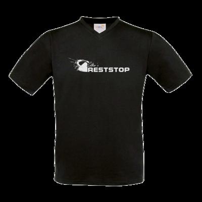 Motiv: T-Shirt V-Neck FAIR WEAR - Citko´s RestStop lang