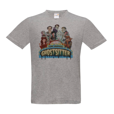 Motiv: T-Shirt V-Neck FAIR WEAR - Ghostsitter