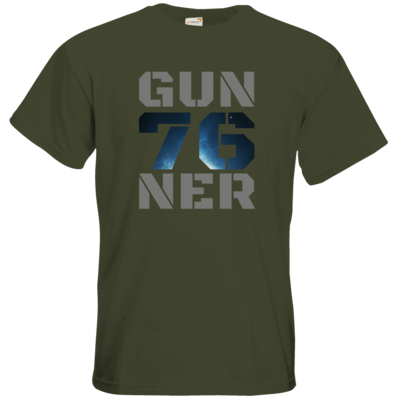 Motiv: T-Shirt Premium FAIR WEAR - Gun76ner Block