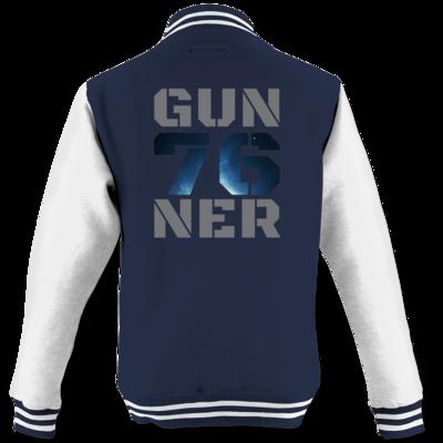 Motiv: College Jacke - Gun76ner Block