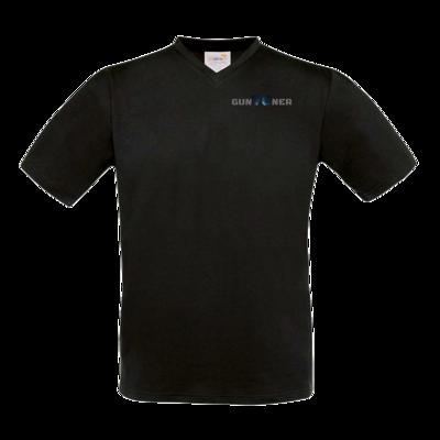 Motiv: T-Shirt V-Neck FAIR WEAR - Gun76ner Lang