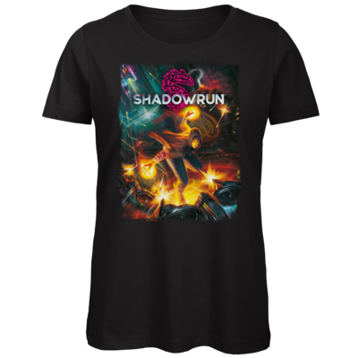 Motiv: Organic Lady T-Shirt - Shadowrun (r)  Cover