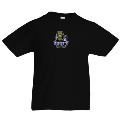 Motiv: Kids T-Shirt Premium FAIR WEAR - DeroxsTV Logo