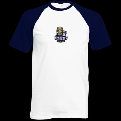 Motiv: Baseball-T FAIR WEAR - DeroxsTV Logo