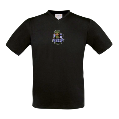 Motiv: T-Shirt V-Neck FAIR WEAR - DeroxsTV Logo