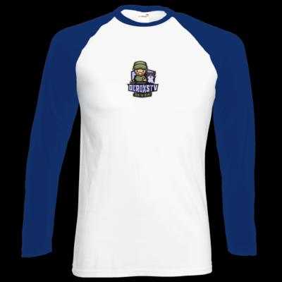 Motiv: Longsleeve Baseball T - DeroxsTV Logo
