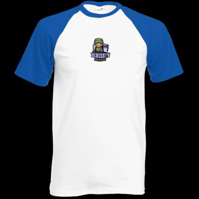 Motiv: TShirt Baseball - DeroxsTV Logo