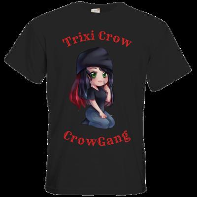 Motiv: T-Shirt Premium FAIR WEAR - Trixi  ( Häkelnadel )