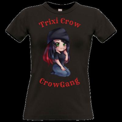Motiv: T-Shirt Damen Premium FAIR WEAR - Trixi  ( Häkelnadel )