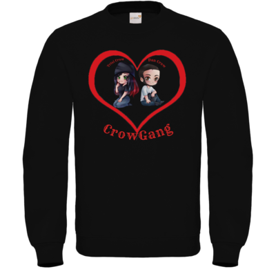Motiv: Sweatshirt FAIR WEAR - Trixi und Dan in Love
