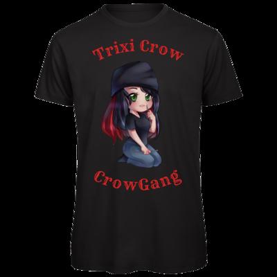 Motiv: Organic T-Shirt - Trixi  ( Häkelnadel )