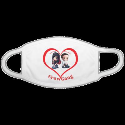 Motiv: Gesichtsmaske - Trixi und Dan in Love