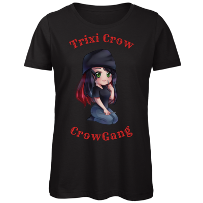 Motiv: Organic Lady T-Shirt - Trixi  ( Häkelnadel )