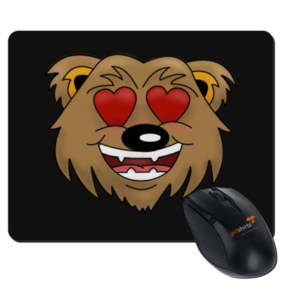Motiv: Mousepad Textil - Love