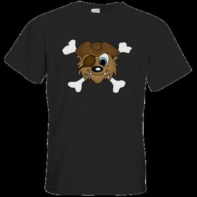 Motiv: T-Shirt Premium FAIR WEAR - PIRATENBAER